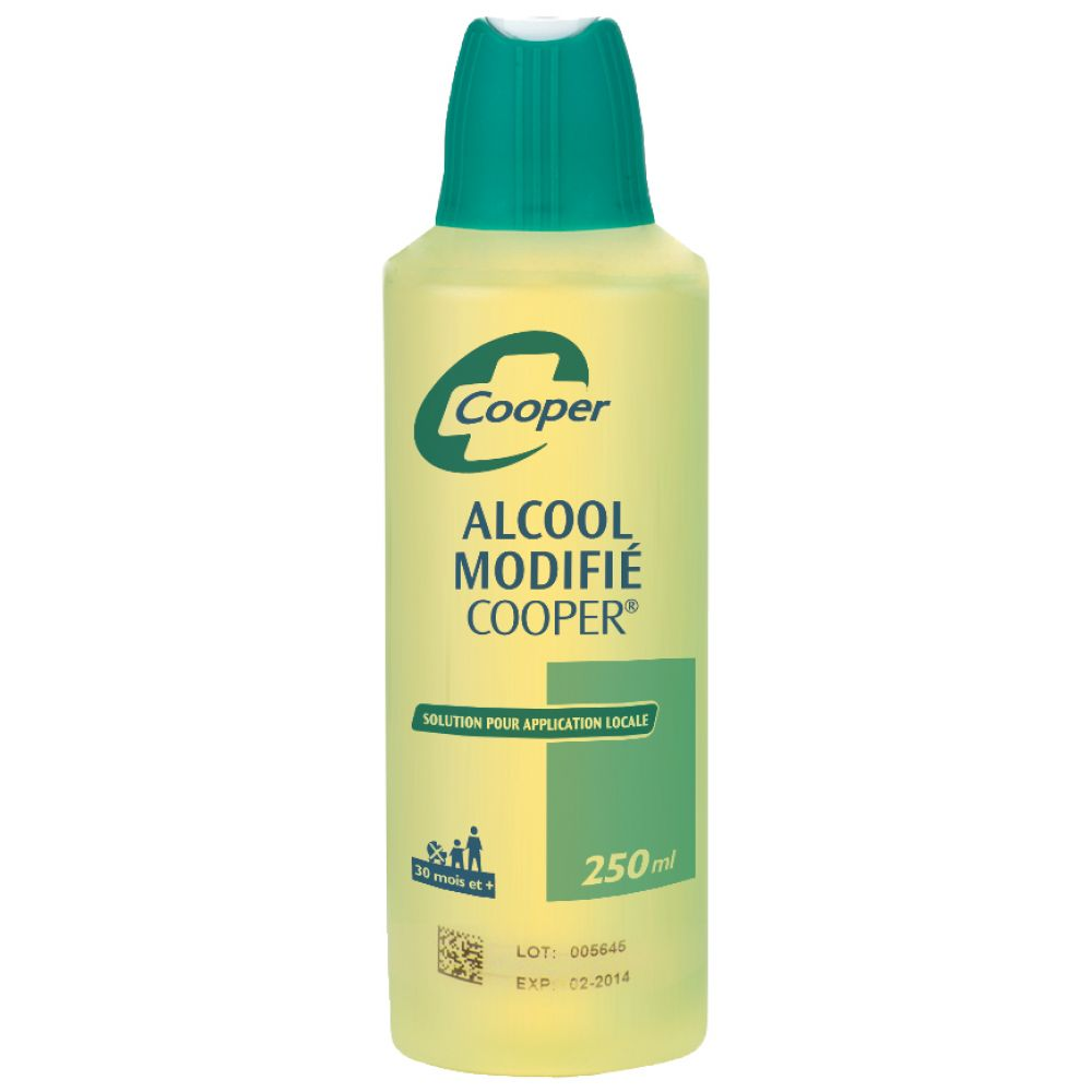 Alcool Modifie Cooper - Flacon de 250 mL