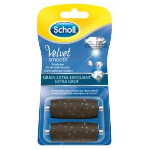 Velvet Smooth Pedi 2 Rouleaux Extra Exfoliants