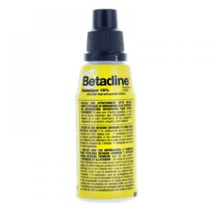 Betadine dermique 10% solution - flacon de 125 mL