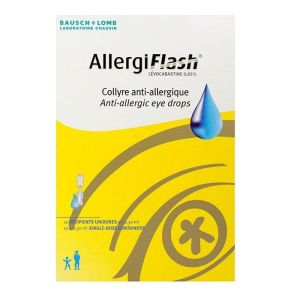 Bausch & Lomb Allergiflash collyre 10 x 0,30ml
