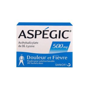 Aspegic 500mg - 20 sachets