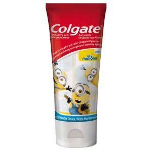 Dentifrice Colgate anti-caries enfants Minions x 50 ml