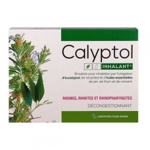 Calyptol ampoules inhalation par fumigation