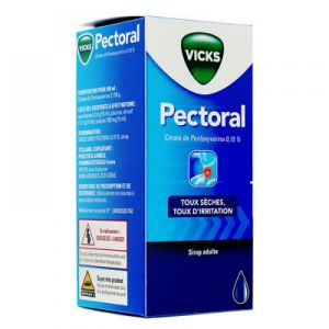 Vicks Sirop Pectoral - flacon de 150mL