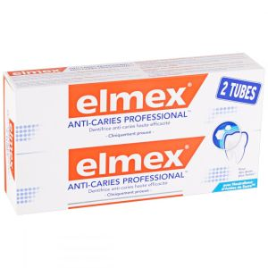 Dentifrice anti caries Professional Elmex 75 ml - 2 x 75 ml