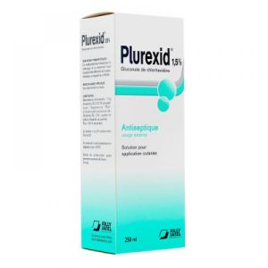 Plurexid dolution locale - Flacon de 250 mL
