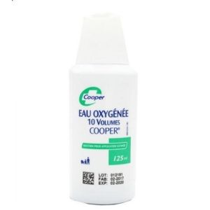 Eau Oxygenee Cooper 10 volumes - 125 mL