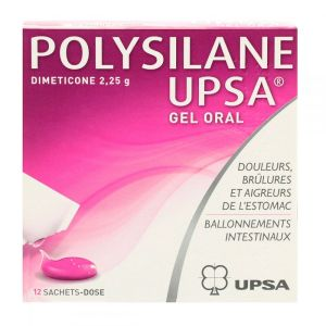 Polysilane gel oral 12 sachets-dose