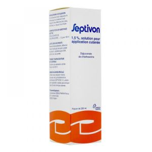 Septivon 1,5% - Flacon de 250 mL